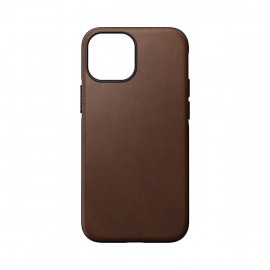 Nomad Modern Lederhülle MagSafe iPhone 13 Mini braun