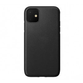 Nomad Rugged Lederhülle iPhone 11 schwarz