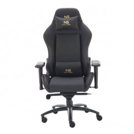 Nordic Gaming Gold Premium SE Gaming Stuhl Echtleder schwarz