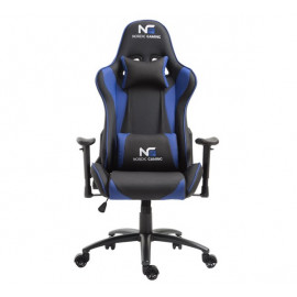 Nordic Gaming Racer Gaming Stuhl blau / schwarz