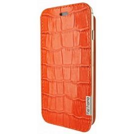 Piel Frama FramaSlim iPhone 6(S) Crocodile orange