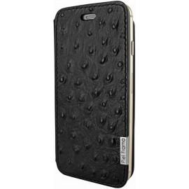 Piel Frama FramaSlim iPhone 6(S) Ostrich schwarz