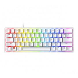 Razer Huntsman Mini Gaming Tastatur (Clicky Optical) weiß QWERTY