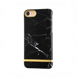 Richmond and Finch Marble Glossy iPhone 7 schwarz