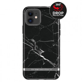 Richmond & Finch Freedom Series Apple iPhone 11 Black Marble / Silber