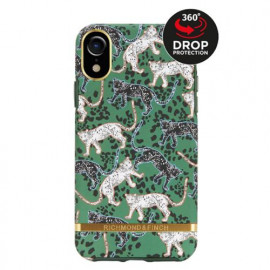 Richmond & Finch Freedom Series Apple iPhone XR Green Leopard / Gold