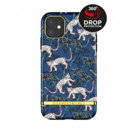 Richmond & Finch Freedom Series iPhone 12 / iPhone 12 Pro Blue Leopard
