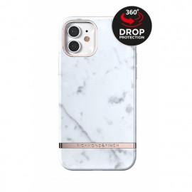 Richmond & Finch Freedom Series iPhone 12 Mini White Marble