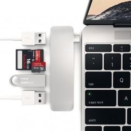 Satechi Type-C USB HUB silber