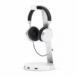 Satechi Aluminum Headset-Halterung Stand Silber