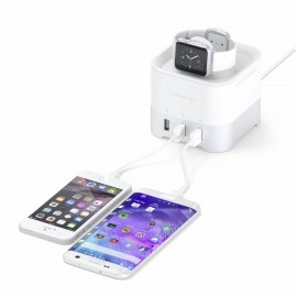 Satechi Smart Charging Stand Silber