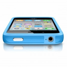 iPhone 4(S) Bumper Blau