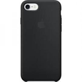 Apple Silikonhülle iPhone 7 / 8 schwarz