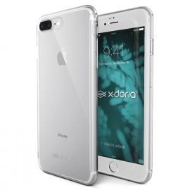 X-Doria 360° Vor- und Rückseitenhülle mit Hartglas iPhone 7 / 8 Plus clear