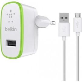 Belkin Universal Home-Ladegerät 2.4A mit Micro-USB-Kabel 1.2m weiß