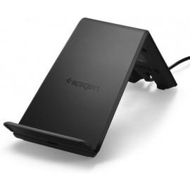 Spigen Essential 9W Wireless Schnellladegerät schwarz