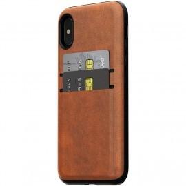 Nomad Wallet Case iPhone X / XS braun