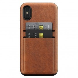 Nomad Wallet Case iPhone X / XS braun