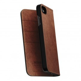 Nomad Leather Folio Case iPhone 7 / 8 braun