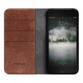Nomad Leather Folio Case iPhone 7 / 8 braun