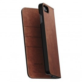 Nomad Leather Folio Case iPhone 7 / 8 Plus braun