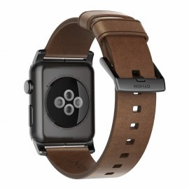 Nomad Lederarmband Apple Watch 42 / 44 mm braun/schwarz