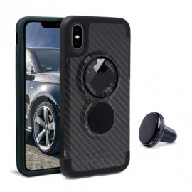 Rokform Crystal Case iPhone X / XS carbon black