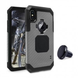 Rokform Rugged Case iPhone X gunmetal schwarz