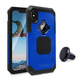 Rokform Rugged Case iPhone X blau