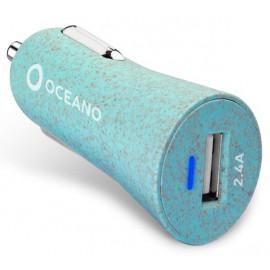 SBS eco-friendly Car Charger 12W blau