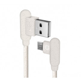 SBS Eco-friendly Micro USB cable 1m weiß