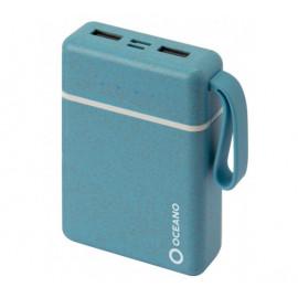 SBS eco-friendly powerbank 10,000 mAh blau