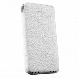 Sena UltraSlim Pouch Leder iPhone 4 / 4S weiß