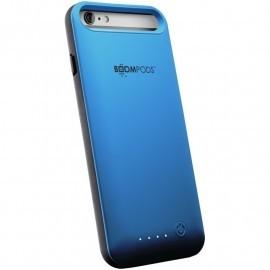 Boompods Powercase 4000mAh iPhone 6 / 6S Plus blau