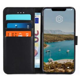 Casecentive Wallet Lederhülle Protective iPhone X / XS schwarz