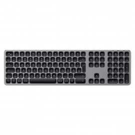 Satechi Aluminium kabellose Tastatur Space Gray (wireless)