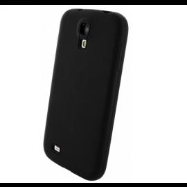 Mobiparts Siliconen Case Galaxy S4 schwarz