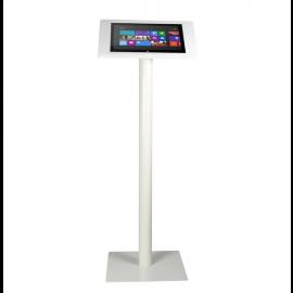 Tablet Bodenständer Fino Surface Pro 4 weiß mit Schloss
