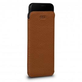Sena UltraSlim Leather Sleeve for iPhone XS Max Braun
