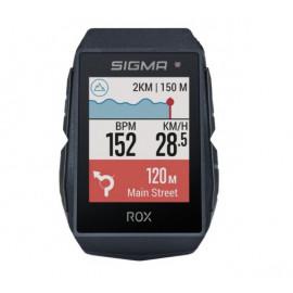 Sigma ROX 11.1 GPS Fahrradcomputer schwarz + Lenkerhalterung