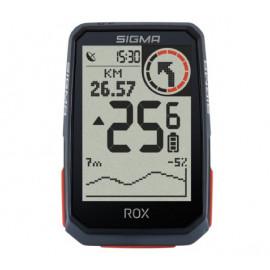 Sigma ROX 4.0 GPS Fahrradcomputer schwarz + Lenkerhalterung