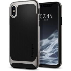 Spigen Neo Hybrid case iPhone X grau