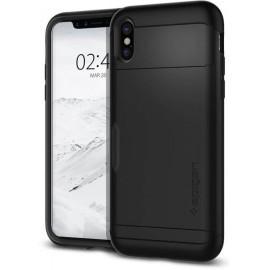 Spigen Slim Armor CS Case iPhone X schwarz