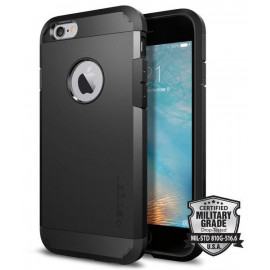 Spigen Tough Armor Hülle iPhone 6 / 6S schwarz