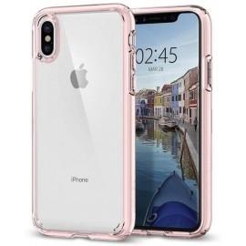 Spigen Ultra Hybrid Case iPhone X Rosa