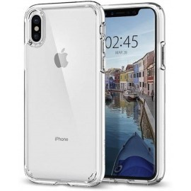 Spigen Ultra Hybrid Case iPhone X transparent