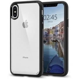 Spigen Ultra Hybrid Case iPhone X Schwarz