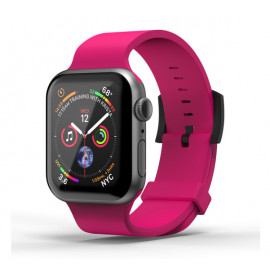 SuperDry Silikon Armband Apple Watch 38 / 40mm rosa