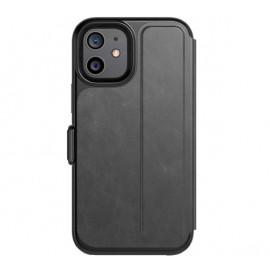 Tech21 Evo Wallet iPhone 12 Mini Schutzhülle Smokey Black