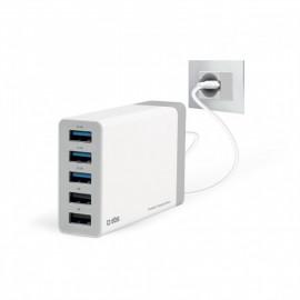 SBS 7000 mA Charging Station 5 USB Anschlüsse